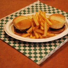Slider and Fries - Funky Monkey Cafe