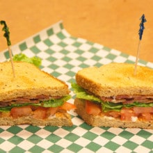 BLT Sandwich - Funky Monkey Cafe
