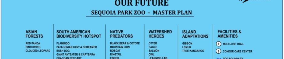 sequoia park zoo master plan revised 2019