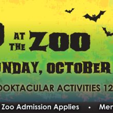Boo at the Zoo Oct. 27